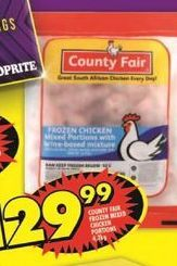 County Fair Chicken offer at R 29,99