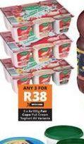 Fair Cape Yoghurt 3 offer at R 38