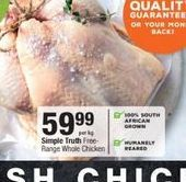 Simple Truth Chicken offer at R 59,99