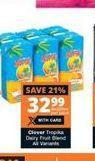 Clover Tropika Dairy Blend offer at R 32,99