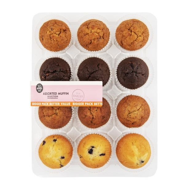 Assorted Muffin Selection 12 pk offers at R 69,99