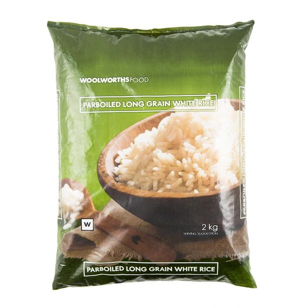 Parboiled Long Grain White Rice 2 kg offers at R 24,99