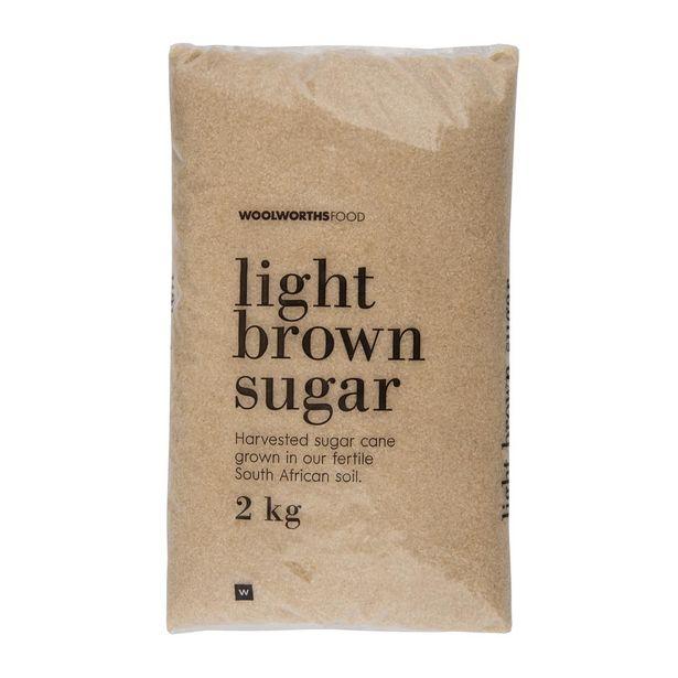 Light Brown Sugar 2 Kg offer at R 32,99