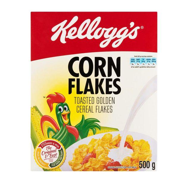Kellogg's Corn Flakes 500 g offer at R 34,99