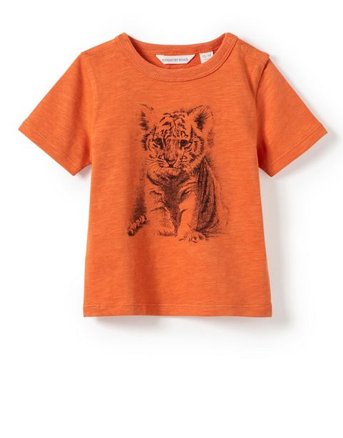 Organically Grown Cotton Baby Tiger T-Shirt offer at R 149