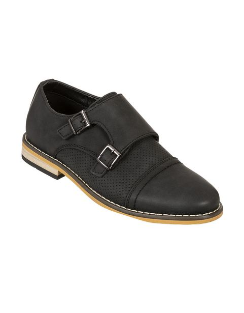Perforated Buckle Shoes (Size 12-6) Older Boy offers at R 212