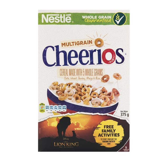 Nestle Cheerios Multigrain Cereal 375 g offers at R 38,99