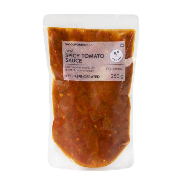 Fresh Spicy Tomato Sauce 250 g offers at R 29,99