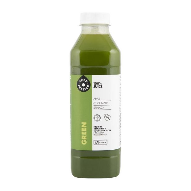Cold Pressed Green 100% Juice 750 ml offer at R 52,99