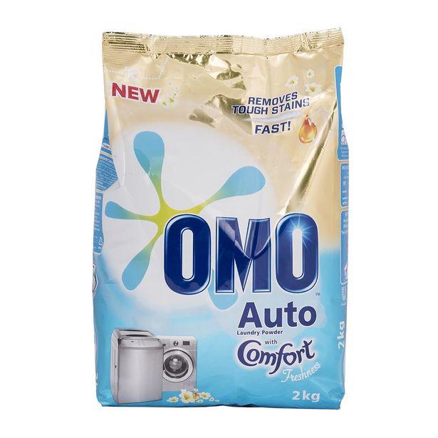 Omo Auto Laundry Washing Powder 2Kg offer at R 52,99