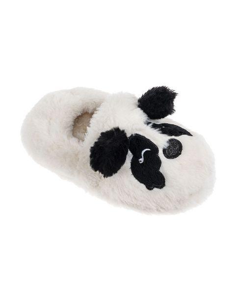 Fluffy Slip-on Panda Slippers (Size 12-6) Older Girl offers at R 96