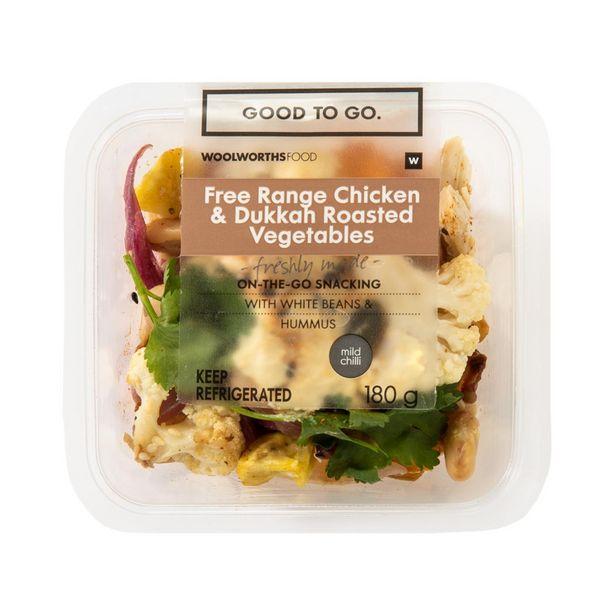 Free Range Chicken & Dukkah Roasted Vegetables 180 g offers at R 39,99