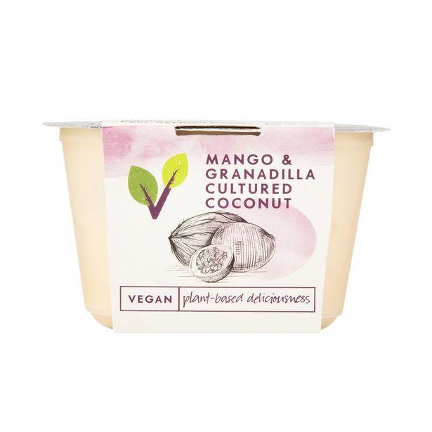 Mango & Granadilla Cultured Coconut 150 g offers at R 18,99
