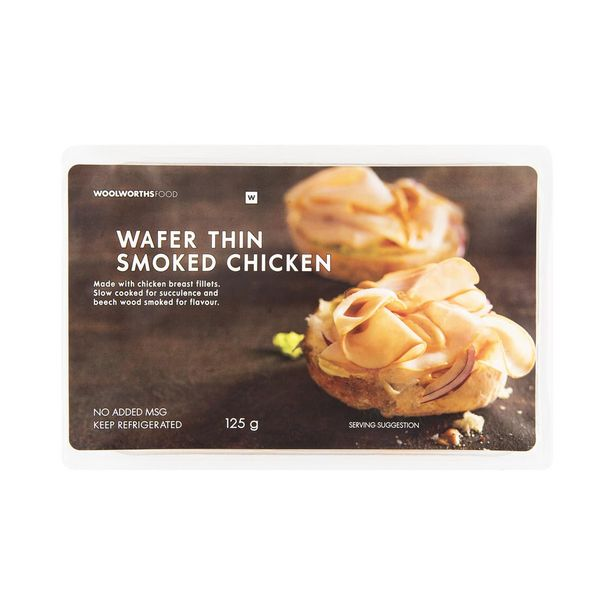 Wafer Thin Smoked Chicken 125 g offers at R 32,99