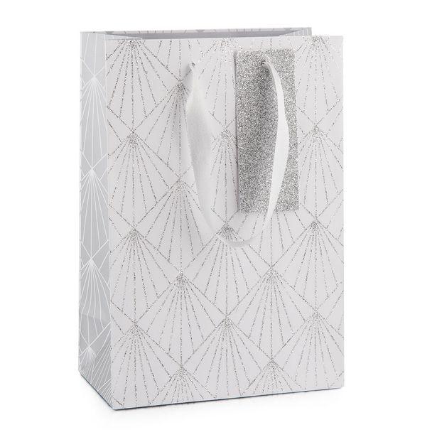 Glitter Diamond Medium Christmas Gift Bag offers at R 49,95