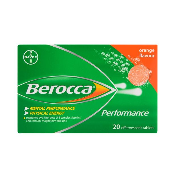 Berocca Effervescent Tablets 20 pk offers at R 164,99