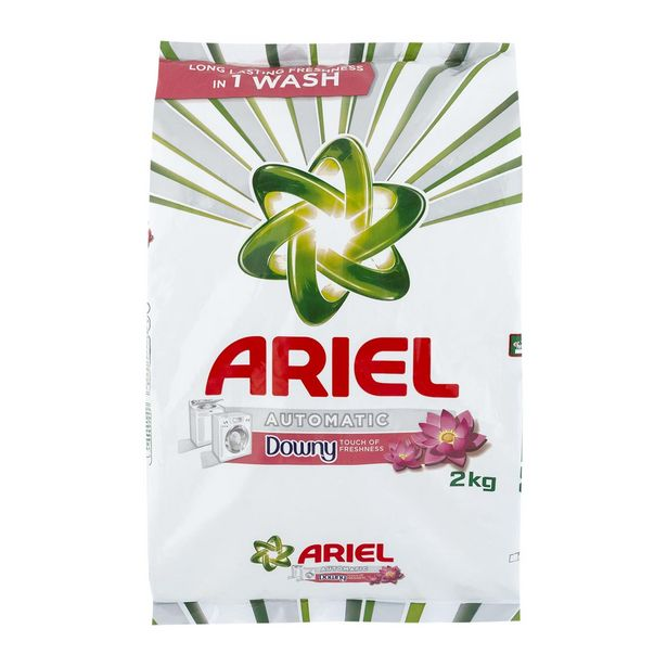 Ariel Downy Auto Washing Powder 2 kg offers at R 59,99