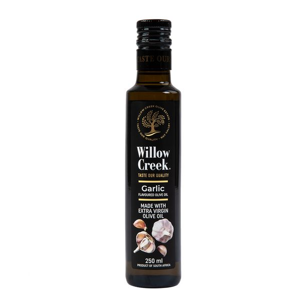 Willow Creek Garlic Flavoured Extra Virgin Olive Oil 250 ml offers at R 69,99