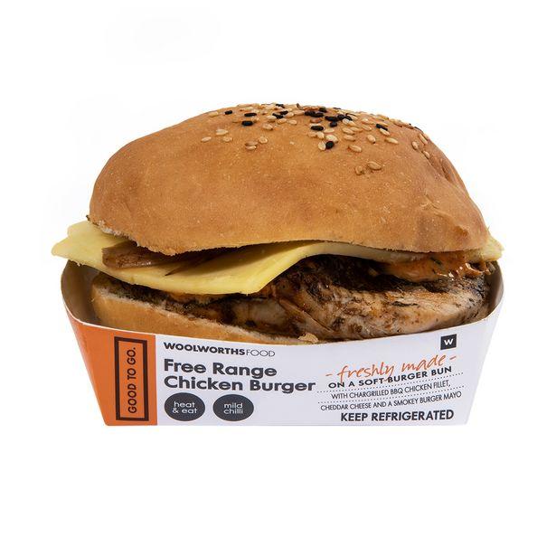 Free Range Chicken Burger offers at R 47,99