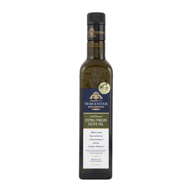 Morgenster Extra Virgin Olive Oil 500 ml offers at R 119,99