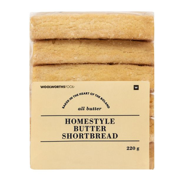 Butter Shortbread 220 g offers at R 49,99
