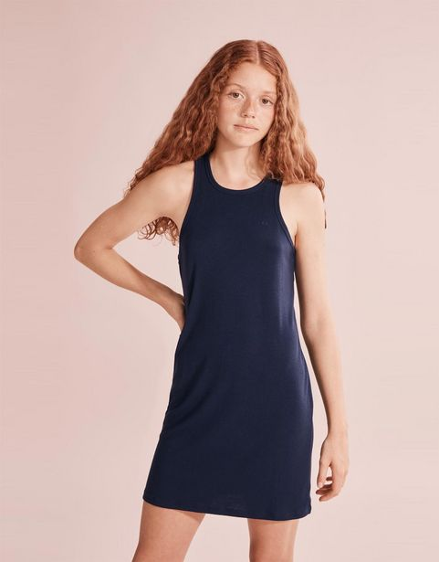 Teen Recycled Polyester Racerback Dress offer at R 269