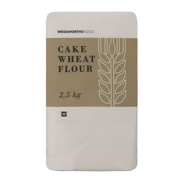 Cake Wheat Flour 2.5 Kg offer at R 22,99