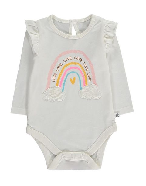 Rainbow Print Bodysuit offers at R 84