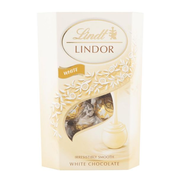 Lindt Lindor White Chocolate 200 g offers at R 99,99