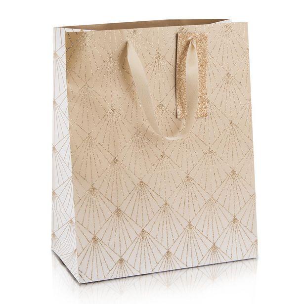 Glitter Diamond Large Christmas Gift Bag offers at R 65