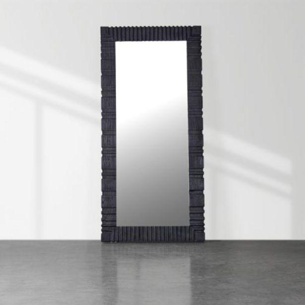 Dark Carved Floor Mirror offers at R 8997