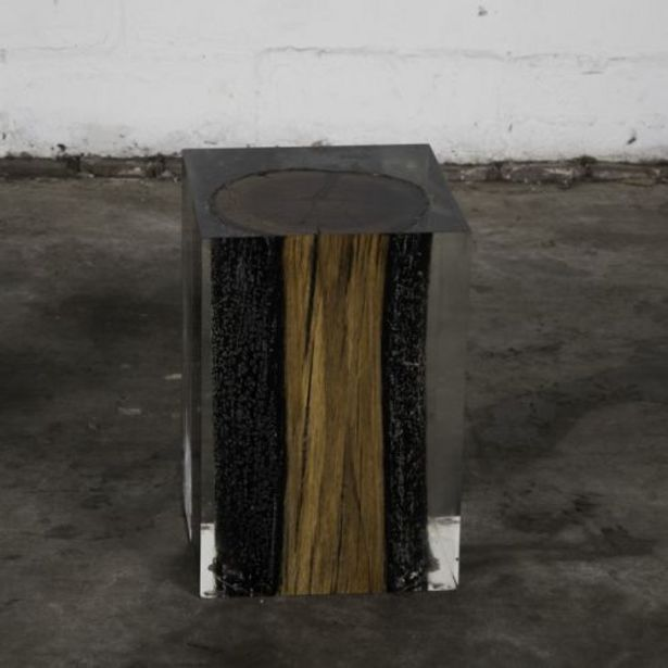 Xylem Burntwood Side Table offers at R 34997,5