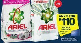 Ariel Hand Washing Powder 2 offer at R 110