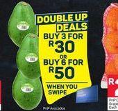 Avocado 3 offer at R 30