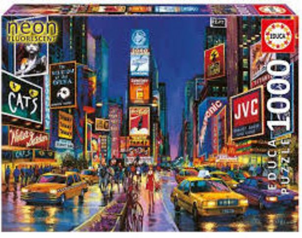 Times Square. New York 1x1000pc offer at R 249,9