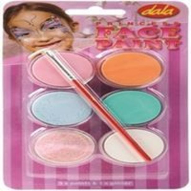 Ted-fp-kit Face Paint Kit 6x10ml offer at R 79,9
