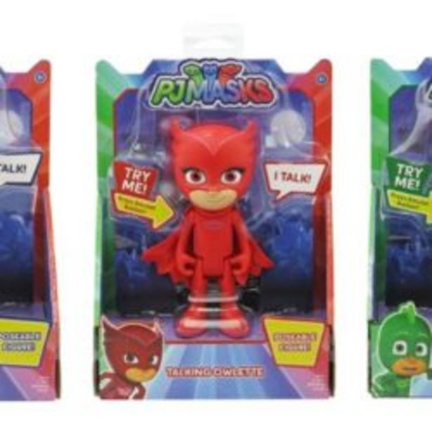 Pj Masks Deluxe Talking Fig Asstd offer at R 349,9