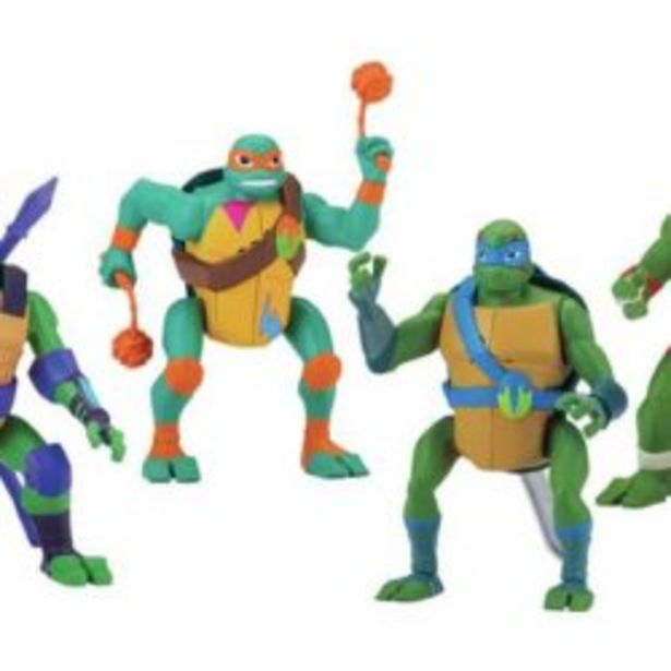 Tmnt Deluxe Attack Fig W Sound offer at R 479,9