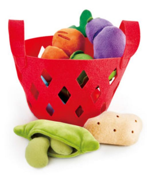 Hape Toddler Vegetable Basket offers at R 399,9