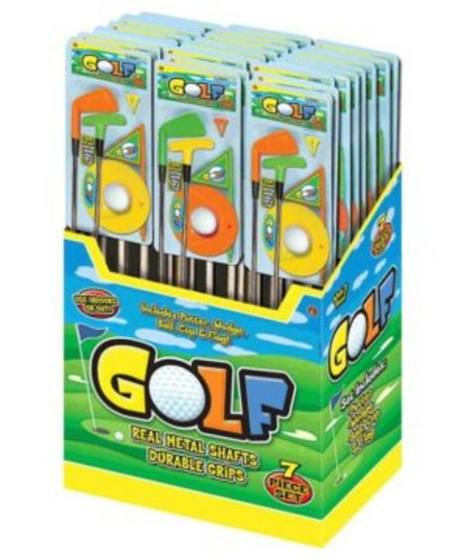 7pc Golf Youth Metal Play Set offers at R 229,9