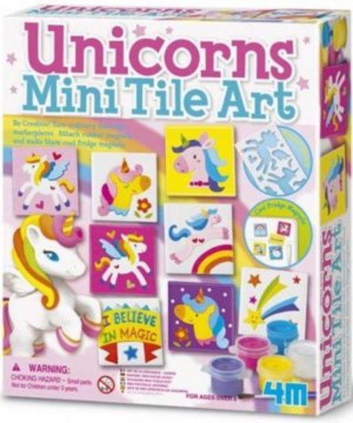 Unicorns Mini Tile Art offers at R 199,9