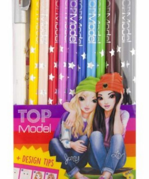 Top Model Colouring Pencils 12 offers at R 129,9