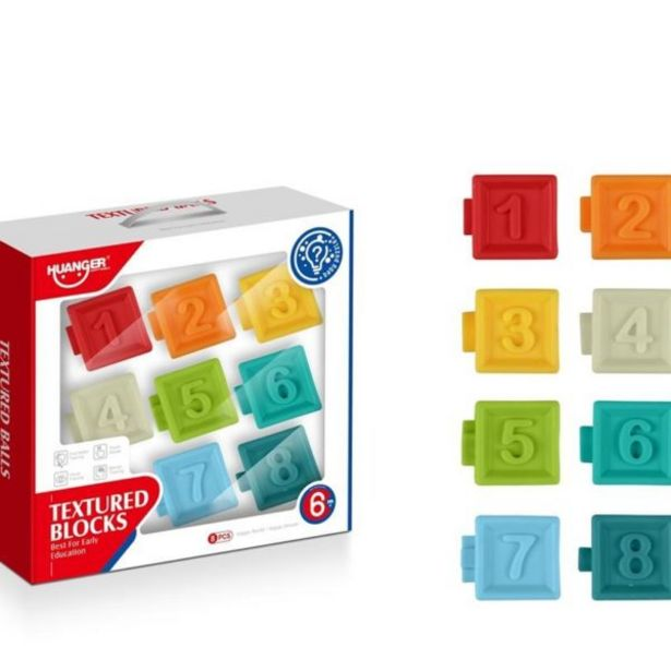 Baby Textured Soft Blocks offers at R 239,9