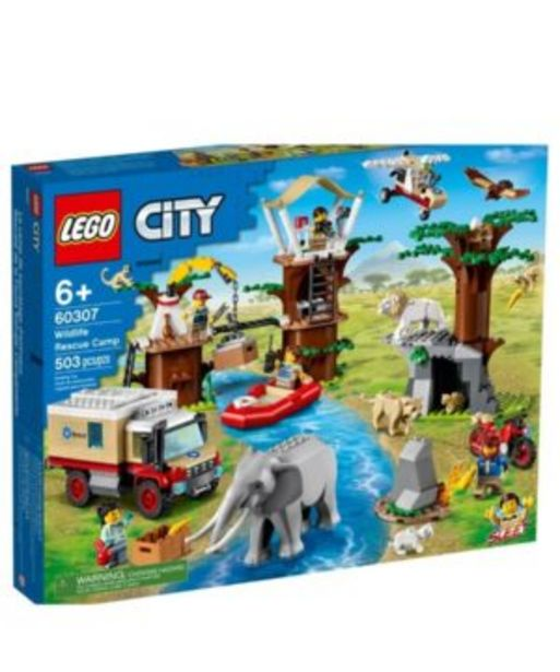 City Wildlife Rescue Camp Animal Set offers at R 1999