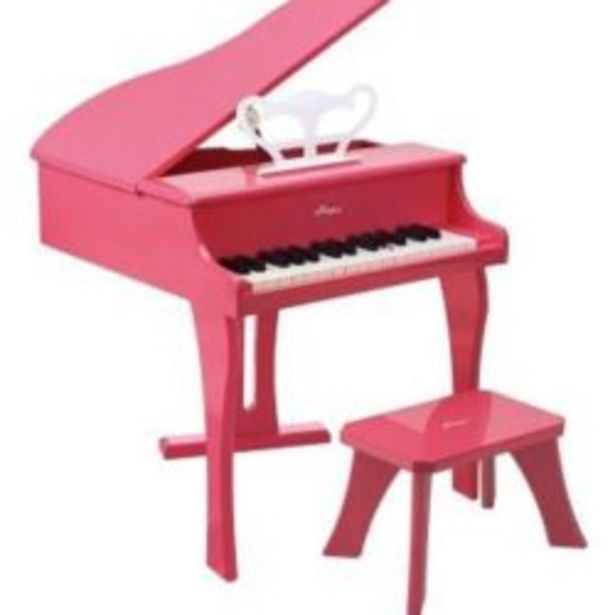 Hape Happy Grand Piano Pink offer at R 2999