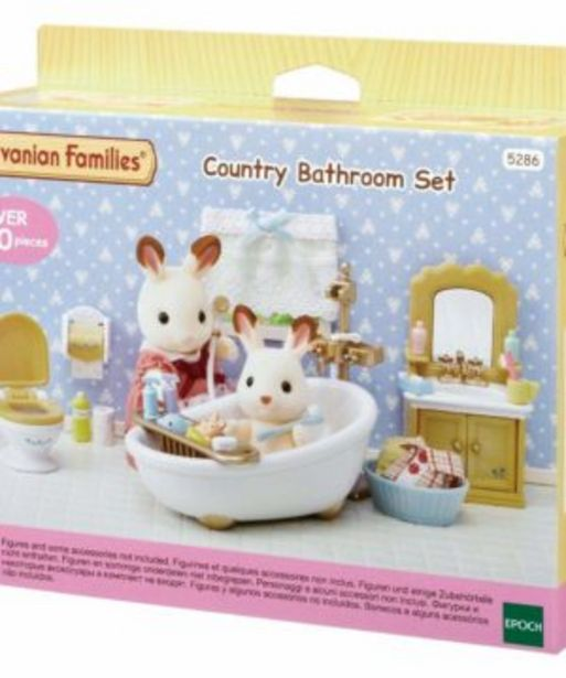 Country Bathroom Set offers at R 449,9