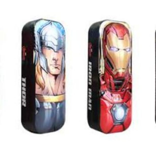 Marvel Pencil Box 4 Ass offer at R 89,9