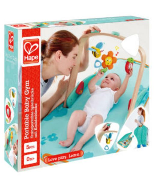 Hape Portable Baby Gym offers at R 799,9