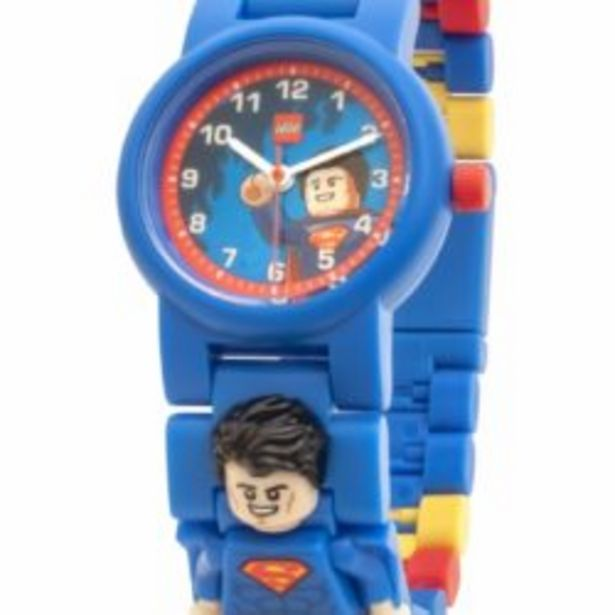 Lg Spr Heroes Superman Minifig Link Watch offer at R 399,9