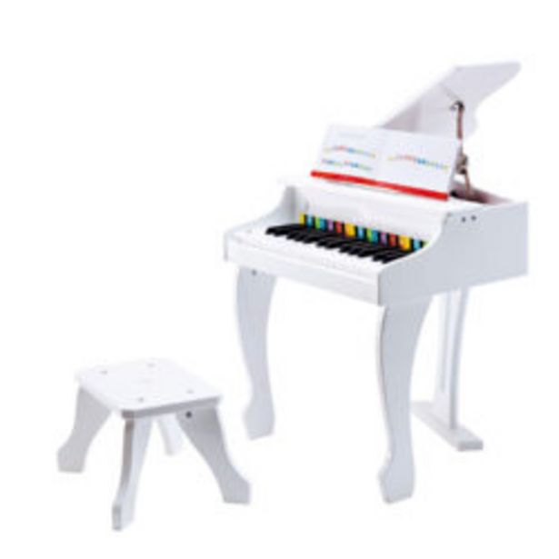 Deluxe White Grand Piano offer at R 2999